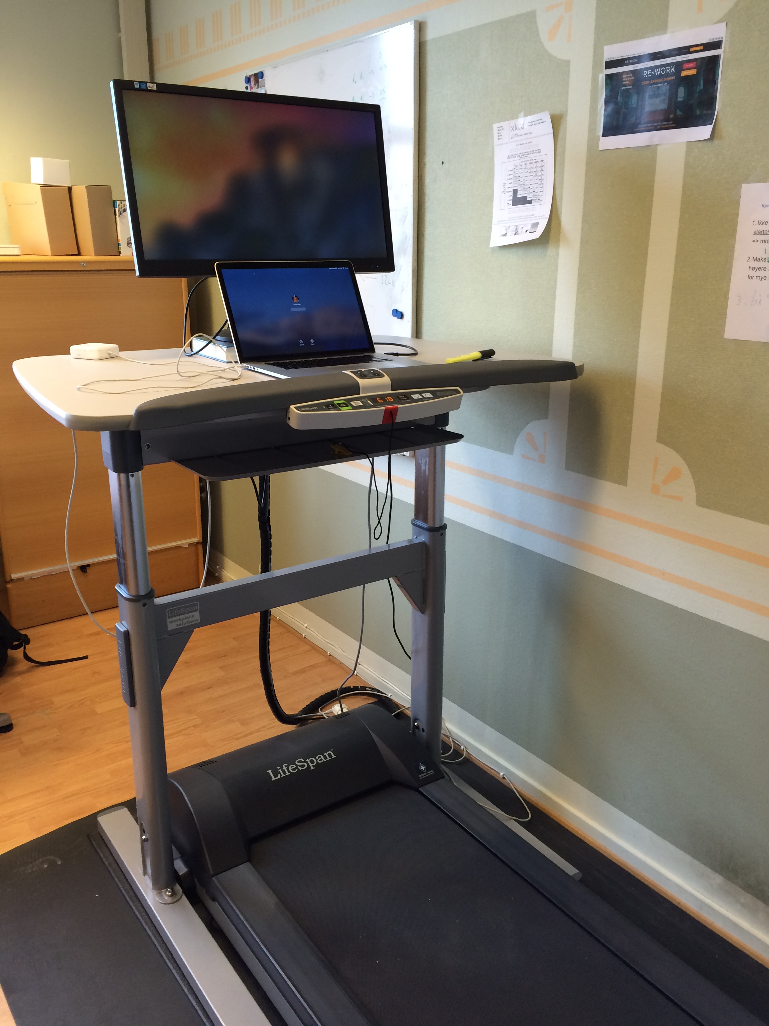 Treadmill Desks U2013 The Future Software Engineer Office Rig?